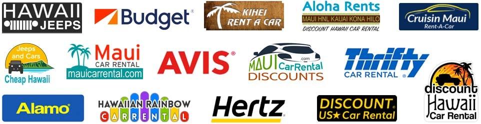 Major Rent-a-Car Agencies in Hawaii